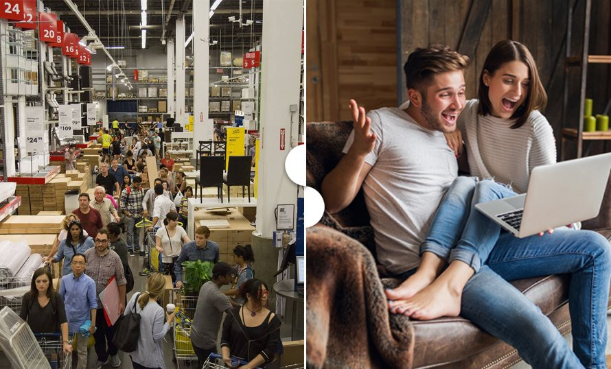 Black Friday & Cyber Monday: A Shift From In-Store To Online